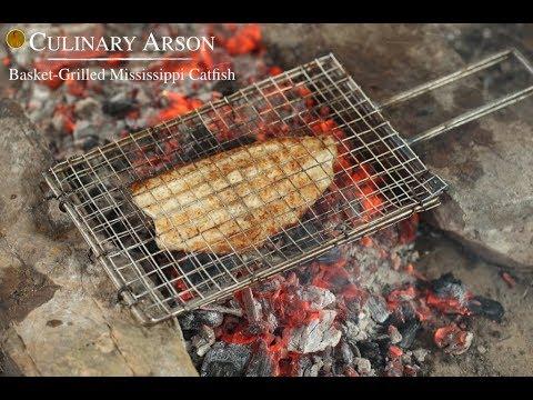 Basket-Grilled Mississippi Catfish