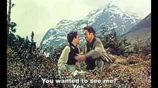 Die Geierwally (Cap, 1956) subtitled clip