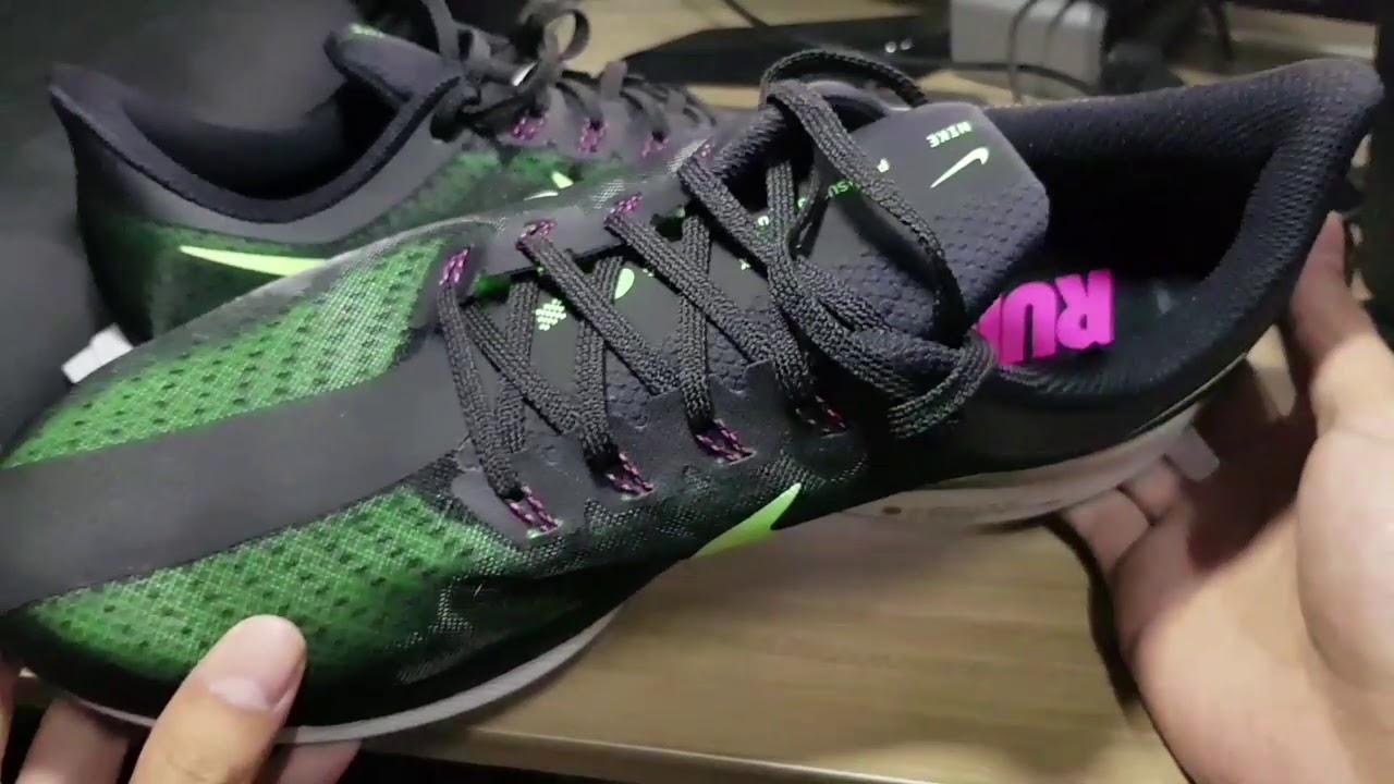 Nike Pegasus 35 Turbo Black/Lime Blast