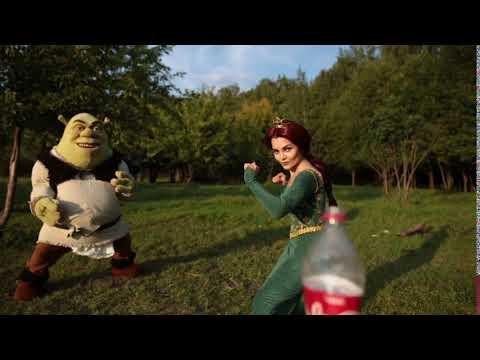Shrek Bottle Cap Challenge