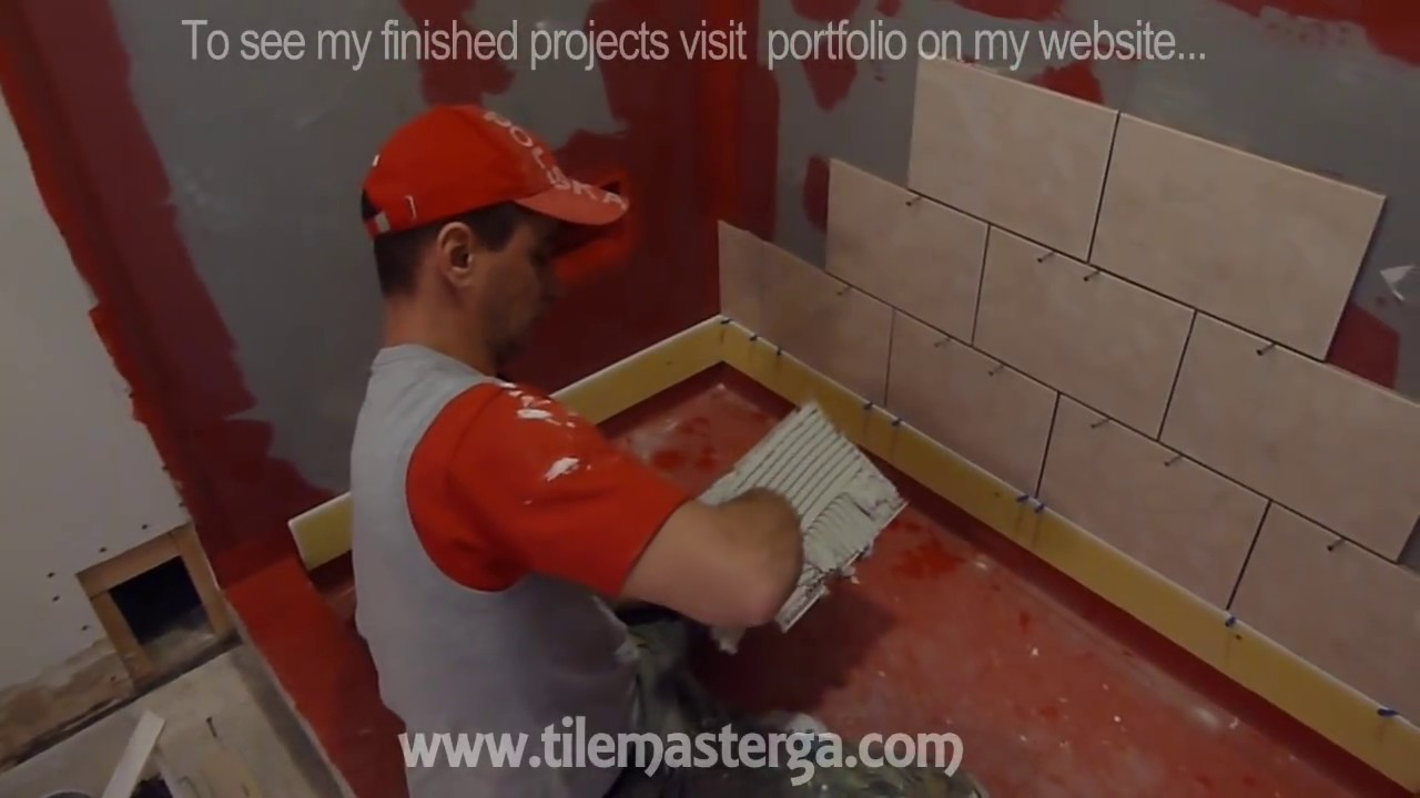 Part 2 How to tile shower stall or tub walls  Where to