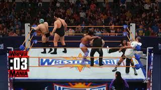 nL Live - WWE 2K18 Universe Mode: WrestleMania Kickoff Battle Royale!