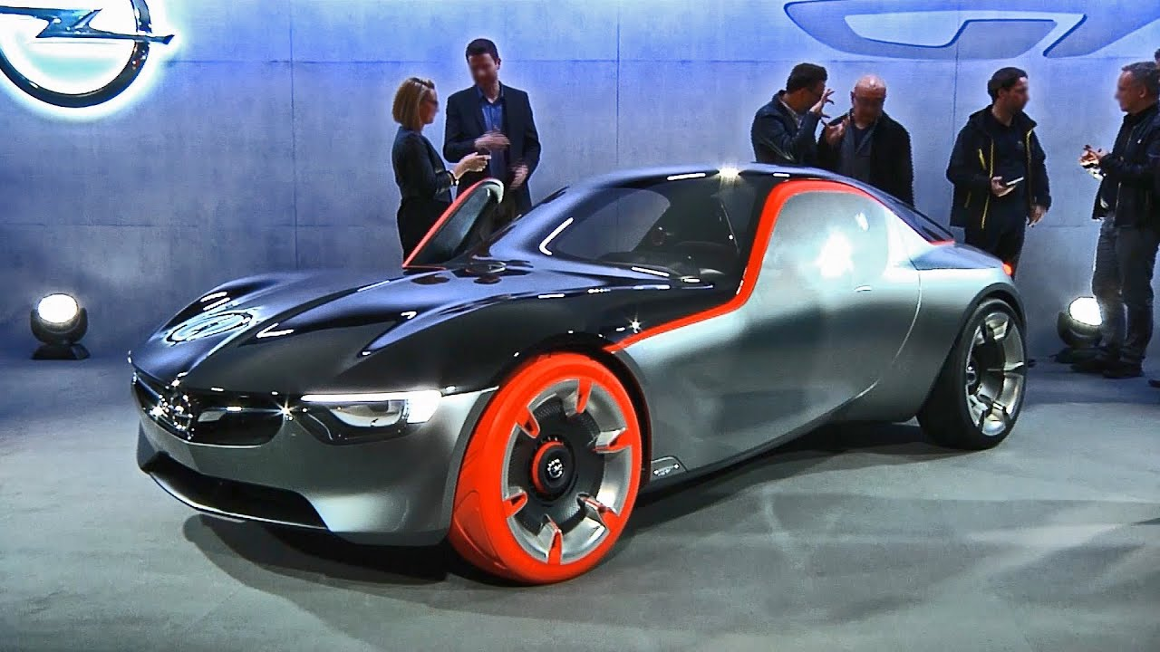 2016 Opel Gt Concept Interior And Exterior Design Youtube