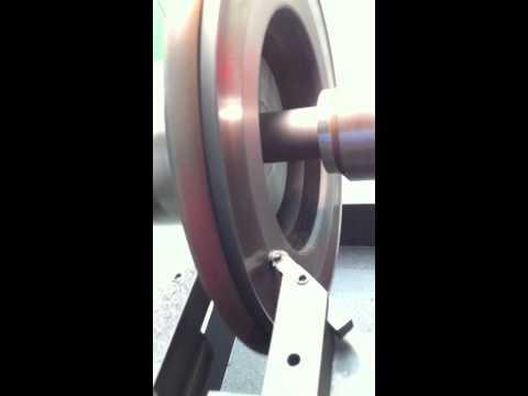 Kwik-way cbl 102 brake lathe