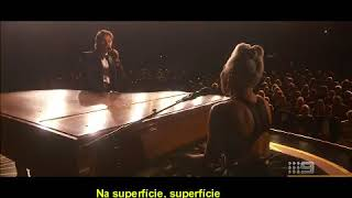 Lady Gaga-Shallow( feat  Bradley Cooper){ Live Oscar 2019 LEGENDADO}