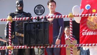 20160203 節分豆まき 増上寺 スーパーマン、バットマン、中村玉緒、