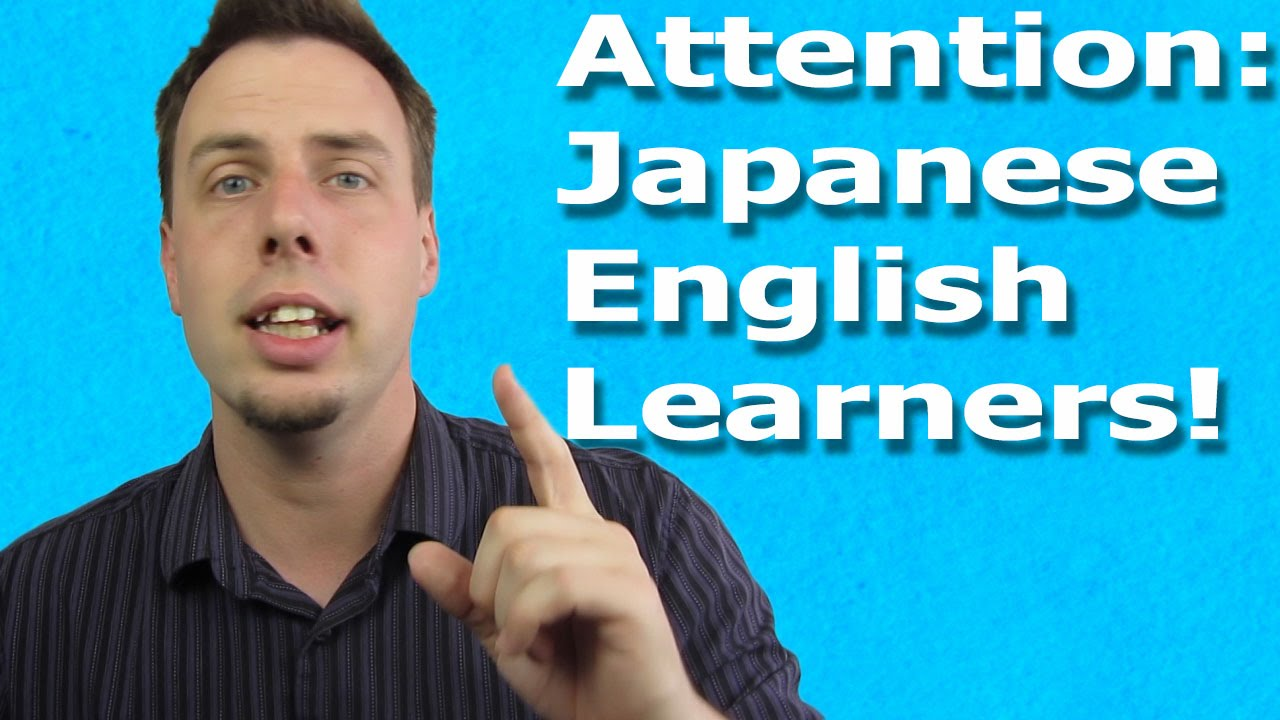 The one reason japanese speakers have difficulty with english pronunciation
