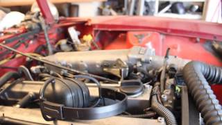 240z 1jz throttle cable install