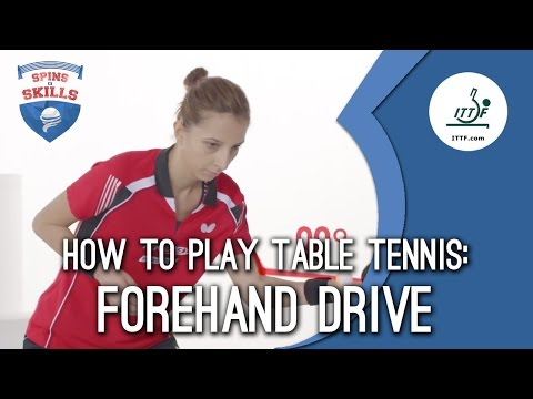Generate How to play table tennis - Forehand Drive Screenshots