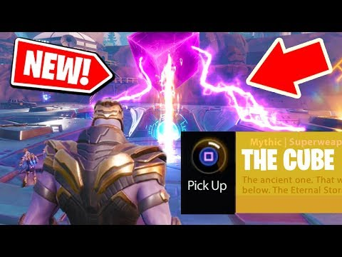 NEW! How to get the LOOT LAKE EVENT with THANOS from AVENGERS: ENDGAME in Fortnite: Battle Royale