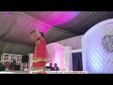 Nadia Gul new song warky dang Dubai show 2017