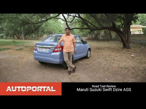 Maruti Swift Dzire AMT Test Drive review - Autoportal