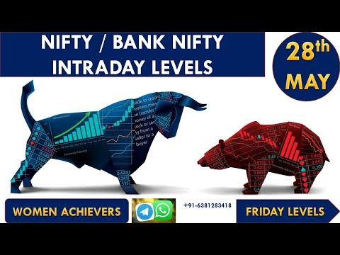 (28th-MAY-2021) Nifty | Bank Nifty Prediction For TOMORROW | Intraday Levels FRIDAY TARGET Levels