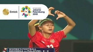 Download Video Hasil Pertandingan Sepakbola Putri Indonesia vs Maldives | Gempita Asian Games 2018 MP3 3GP MP4
