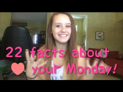 22 Facts About Your Monday!  Jade Pink