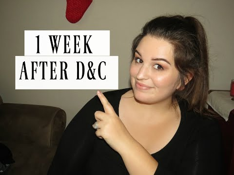 1 WEEK AFTER D&C || How I'm Doing..
