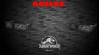 Roblox - Jurassic World Sunglasses (Promo code expired)