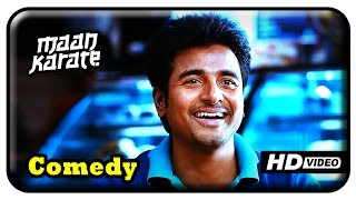 Maan Karate Tamil Movie - Full Comedy Part 1 | Sivakarthikeyan | Hansika | Sathish