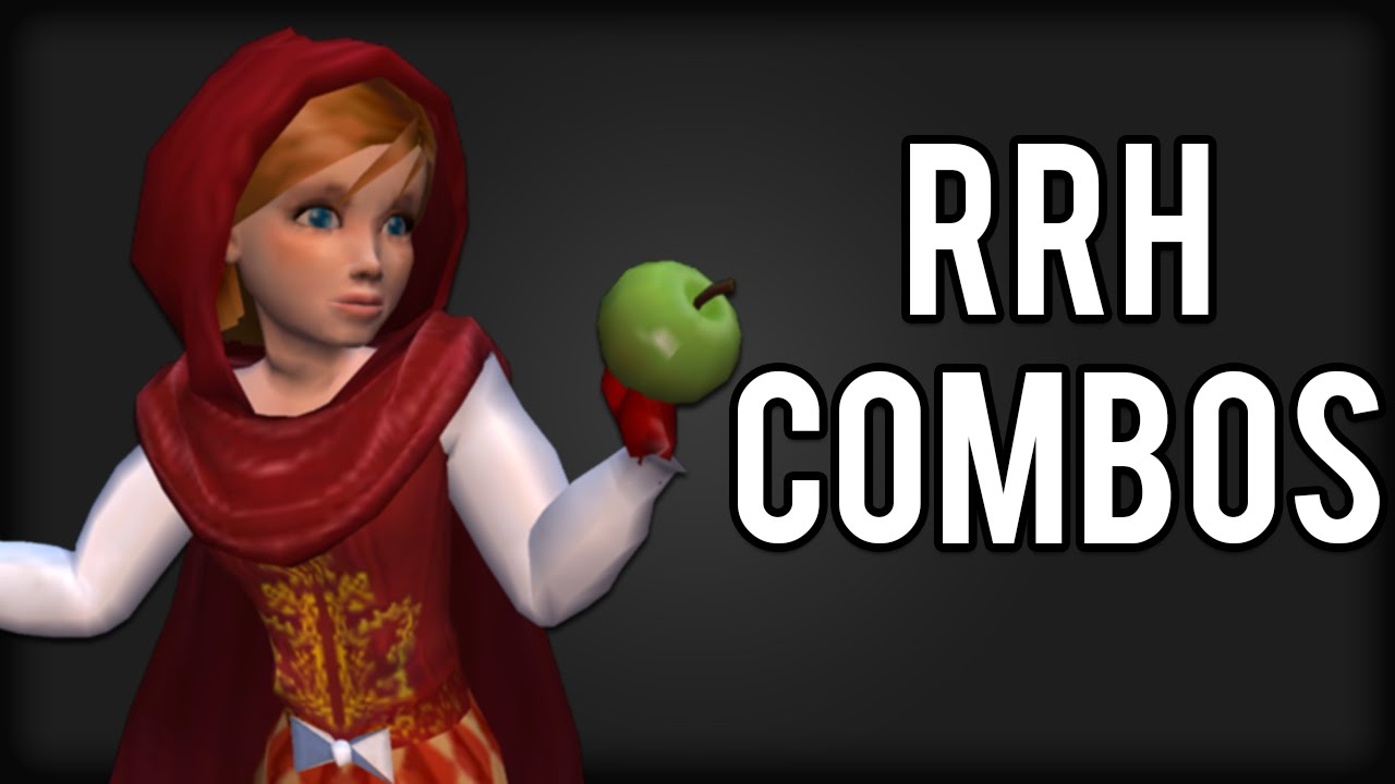 Shrek Superslam Red Riding Hood Combo Exhibition Youtube