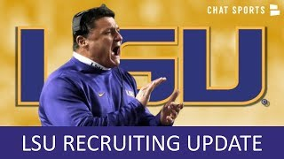 LSU Football: Everything You Need To Know About LSU's 2020 Recruiting Class + Malcolm Greene News