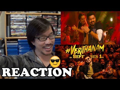 verithanam-lyric-video-(tamil)-reaction-|-bigil-|-thalapathy-vijay-|-a.r-rahman-|-atlee