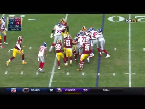 Paul Perkins Highlights | Week 17 @ Redskins (1st 100 Yard Game)