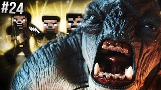HET LAVA LEVEL! Minecraft: Lord Of The Rings Mod S5 - #24