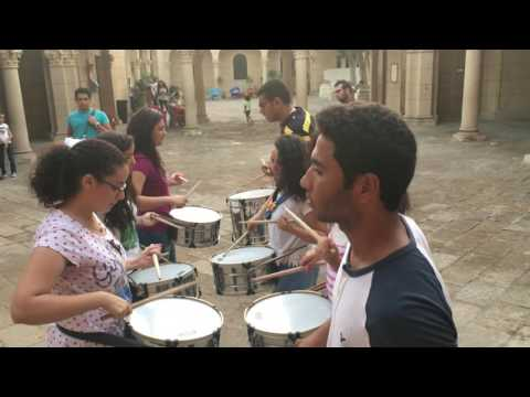 St Paul and St Peter scout drumline training