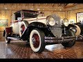 1930 Cadillac 353 Convertible Coupe. CCCA Museum
