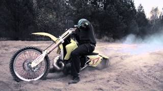 THE POWER OF 2 STROKE - SUZUKI RM 250