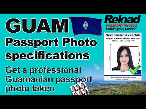 Get your Guam Passport Photo and Visa Photo snapped in Paddington, London