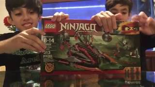 Skatebros unboxing LEGO #4 Ninjago S.7 Vermillion Invader with special time lapse