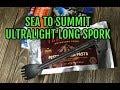 Sea To Summit AlphaLight Ultralight long handled spork