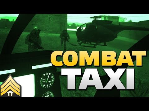 Combat Taxi - Arma 3 Littlebird Transport