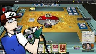 PokéPlay: PTCGO - Darkrai/Terrakion vs. Rayquaza/Eelektrik