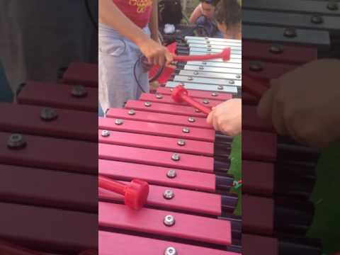 Duo Outdoor Xylophone from Percussion Play | Outdoor Musical Instruments