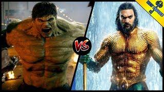 MCU Hulk vs DCEU Aquaman | Who Would Win? (Featuring Comic Books vs The World)
