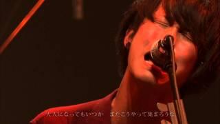 赤色のグリッター『未来飛行機』 @スペースシャワー列伝JAPAN TOUR 2014 赤坂ブリッツ