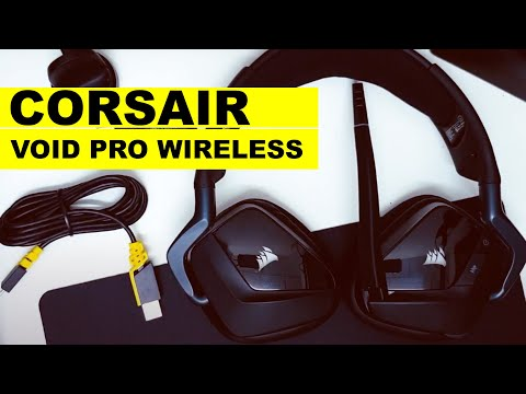 Corsair Void Pro Wireless Gaming Headset : Dari Corsair Outlet (Amazon.com) | Review & Tips