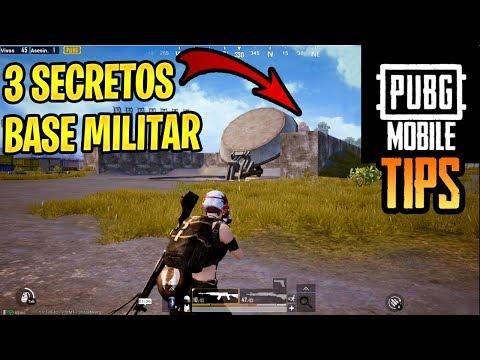 3 SECRETOS EN BASE MILITAR | PUBG MOBILE CONSEJOS Y TRUCOS