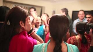 Indian Wedding Ladies Sangeet, Bridgwater, Somerset | Fun Dancing & Partying!