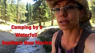 Free Mountain Camping Lincoln National Forest - Sunspot, NM - Sprinter Van Adventures