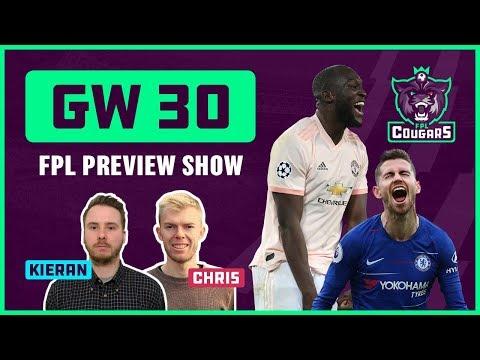 FPL GW30 Preview, Captaincy & Chip Strategy: Aguero? Salah? Vardy? Lukaku? Hazard?