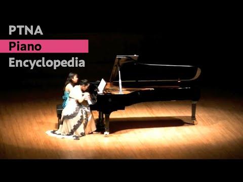 ピアノ300年記念 江崎昌子 ・ 根津理恵子:ブラームス:ハンガリー舞曲