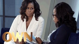 Michelle Obama Won't Forgive Donald Trump For Risking Her Family's Safety | Oprah's Book Club | OWN