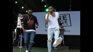 AY Comedian Called Out 2face idibia To Perform On Stage As They Dance Together[Fans Goes Gaga]