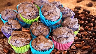 Homemade Chocolate Muffins Recipe