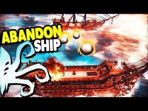 FAVORITE NEW GAME, Ship Battle UPGRADES & Big CANNONS | Abandon Ship Gameplay