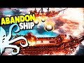 FAVORITE NEW GAME, Ship Battle UPGRADES & Big CANNONS | Abandon Ship Gameplay