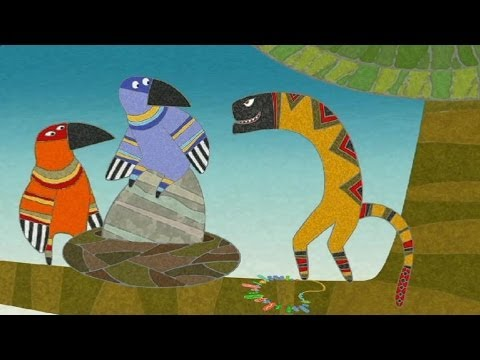 Гора самоцветов - Как обманули змея (How the Serpent was cheated) Нивхская сказка